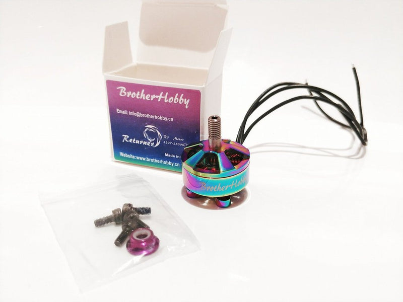 BROTHERHOBBY LIMITED EDITION 2207 2400KV MOTOR - RETURNER R6