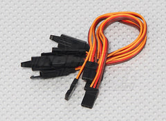 Servo Lead Extention (JR) with hook 26AWG (5pcs/bag) - Next FPV