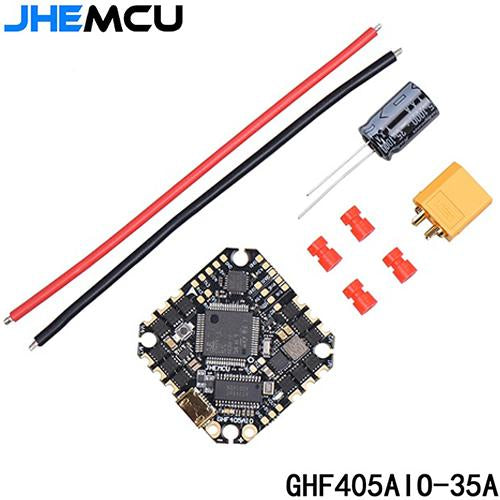 JHEMCU GHF405AIO BLHELI_S 35A 3-6S WHOOP STYLE AIO FLIGHT CONTROLLER AND ESC
