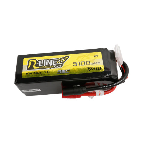 TATTU 5100MAH 6S 95C LIPO BATTERY PACK