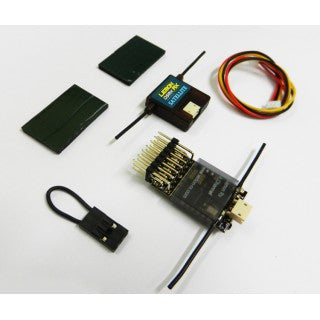 Lemon Rx DSMX Compatible 6-Channel Receiver + Lemon DSMX Compatible Satellite - Next FPV - 1
