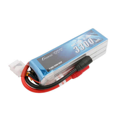 GENS ACE 3300MAH 6S 60C LIPO BATTERY AS150