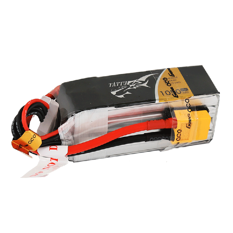 Tattu 1050mAh 4s 75-150c Lipo Battery Pack - Next FPV