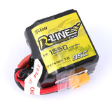 Tattu R-Line 1550mAh 95C 4S1P square lipo battery pack