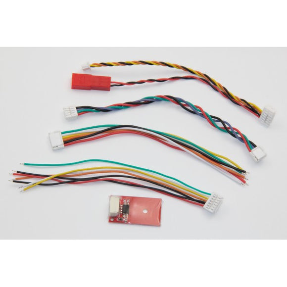 ImmersionRC Tramp HV Accessory Pack, A/V Cables and TNR Tag - TRHV_ACCAV