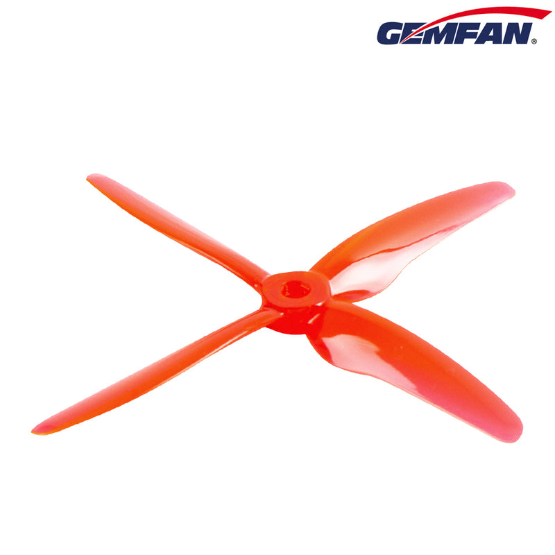"GEMFAN HURRICANE DURABLE X 51455 5"" 4 BLADE PROPS (16 PIECES)"