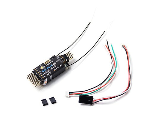 FrSky G-RX8 receiver designed for gliders, integrated vario