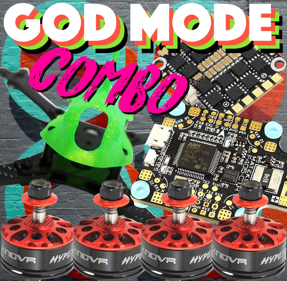 GOD MODE RACER STARTER BUNDLE