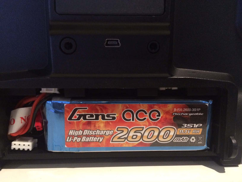 Gens Ace 2600mAh 3s 1c Transmitter Lipo Battery Pack suitable for Taranis - Next FPV - 2
