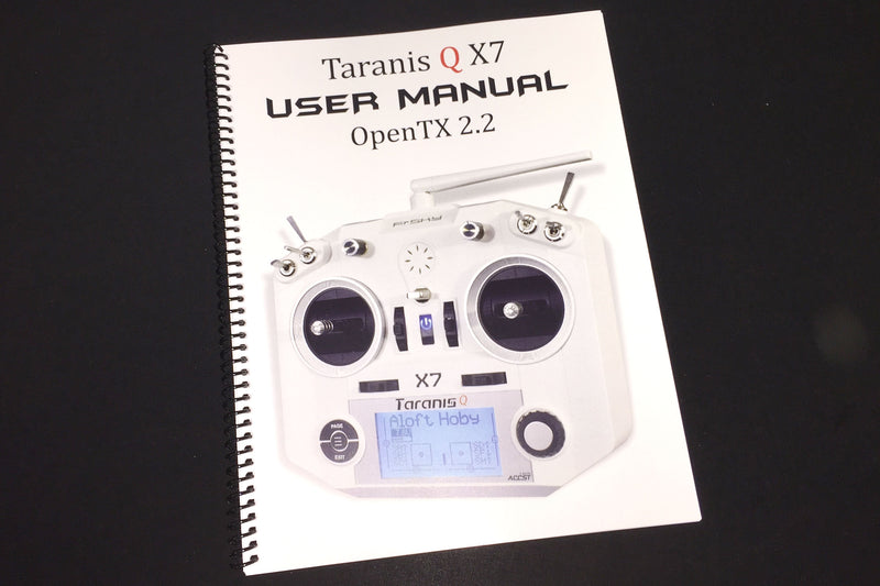 FrSKY Taranis Q X7/OpenTX User Manual
