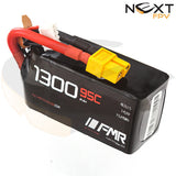Full Metal Racing 1300mAh 4s 95c Lipo Battery Pack
