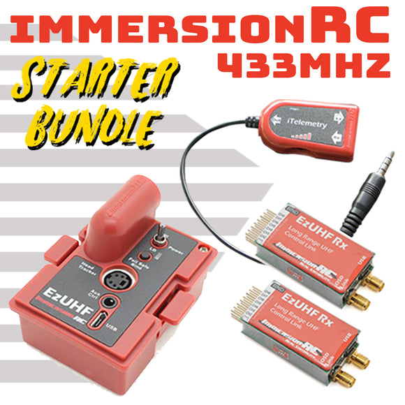 IMMERSIONRC EZUHF 433MHZ STARTER BUNDLE