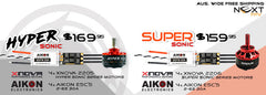 Aikon ESC & Xnova Combo Value Packs - NextFPV
