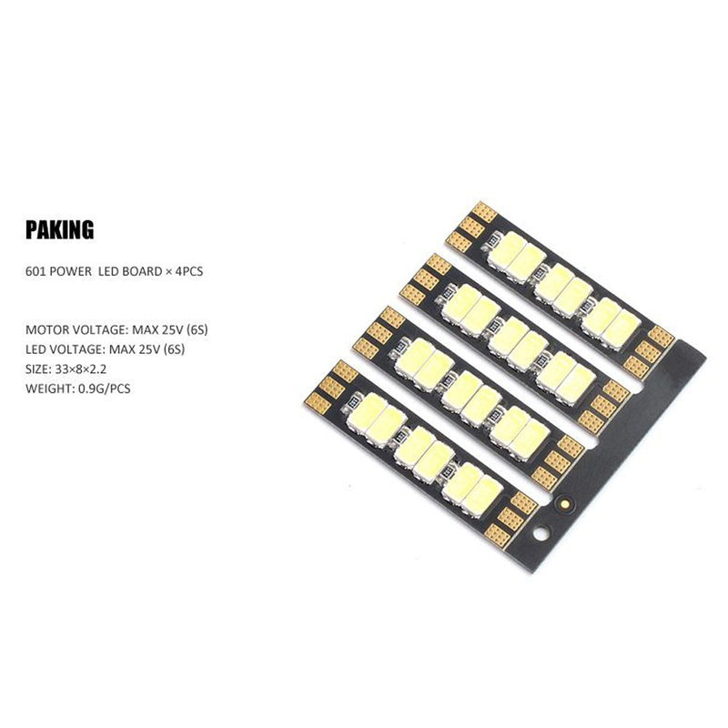 DIATONE MAMBA FLASHBANG 601W MOTOR RACE WIRE LED BOARD (4PCS)