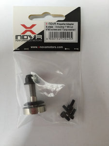 XNOVA  X-class Propeller Adapter (stainless steel for B shaft motors)