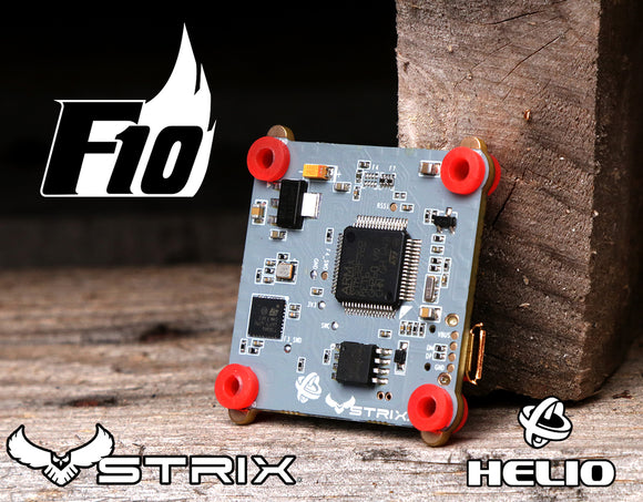 STRIX Binary F10 Flight Controller Powered by HelioRC