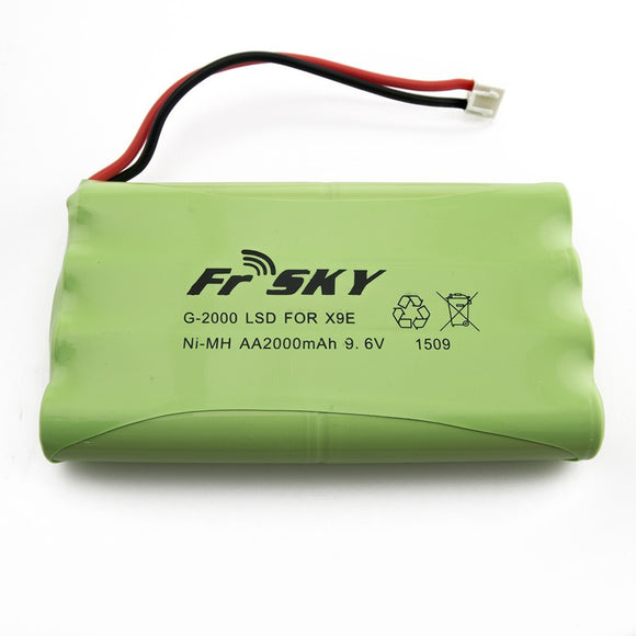 FrSKY X9E - 2000mAH 9.6V Battery