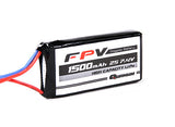 FPV Headset Battery 7.4V 1500mAh 3C - NextFPV - 1