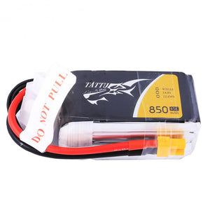 Tattu 850mAh 4s 45-90c Lipo Battery Pack