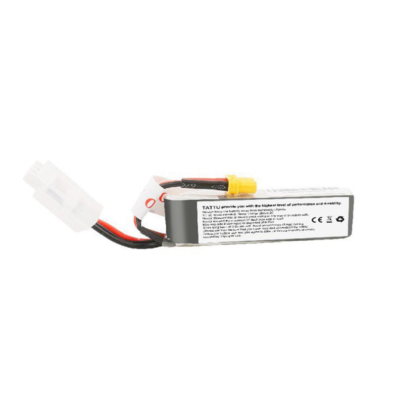 Tattu 450mAh 2S 95C 7.6V High Voltage 95C Lipo Battery Pack with XT30 Plug - Long Pack