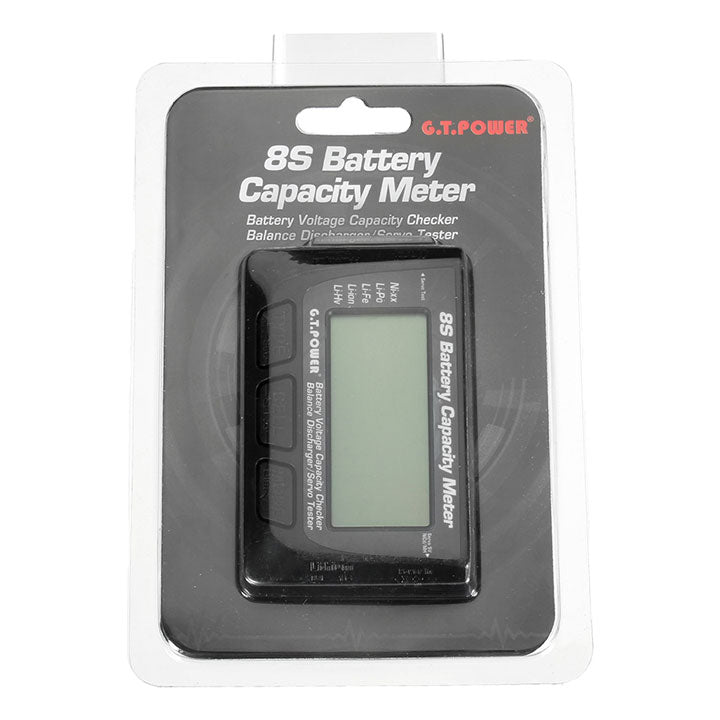 GT POWER BATTERY CELL CHECKER TOOL 1S-8S WITH BALANCING FUNCTION