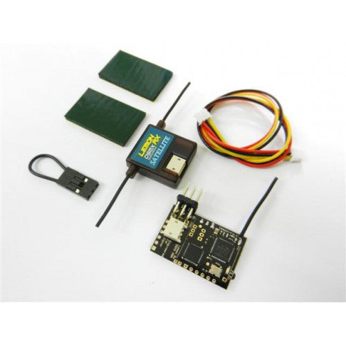 Lemon Rx DSMX Compatible PPM 8-Channel Receiver + Lemon DSMX Compatible Satellite with Failsafe - Next FPV - 1
