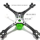"QuadRacer God_Mode V1.2 Frame Kit 5"" (Pod Not Included)"