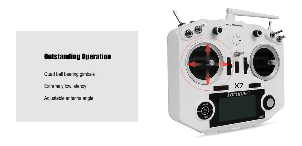 FrSKY Taranis Q X7 Digital Telemetry Radio System 2 4GHz