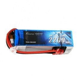Gens Ace 2200mAh 3s 25-50c Lipo Battery Pack With Deans Plug