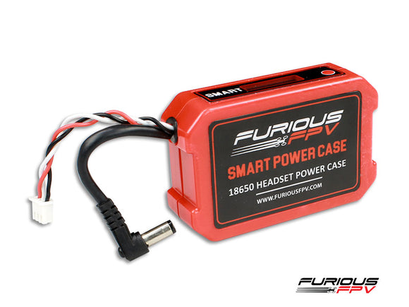 FuriousFPV 18650 Smart Power Case suits FatShark Goggles & other brands