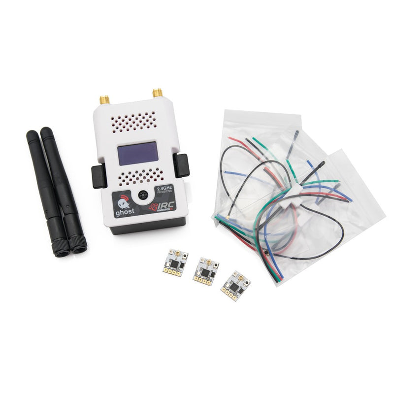 IMMERSIONRC GHOST 2.4GHZ R/C CONTROL SYSTEM STARTER PACK