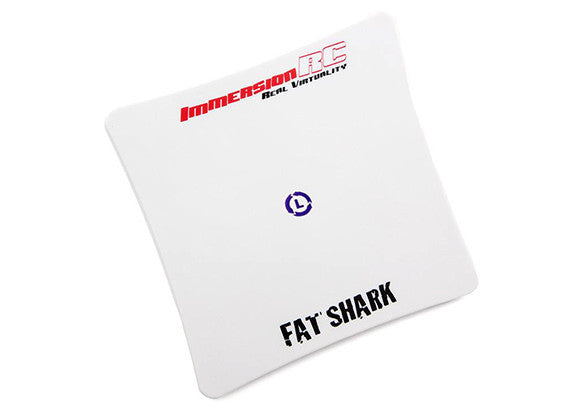 ImmersionRC Fatshark SpiroNET LHCP Patch 5.8GHz Antenna (SMA) 13dBi Gain - NextFPV