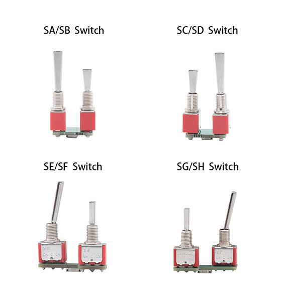 JUMPER T16 SWITCH REPLACEMENTS