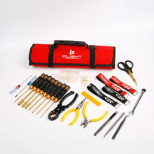 iFLIGHT 25PCS ROLL-UP TOOL BAG