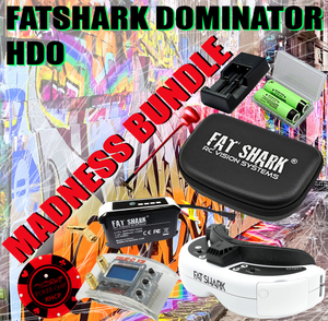 FATSHARK DOMINATOR HDO MADNESS BUNDLE