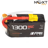 FMR 1300mAh 4s 95c Lipo Battery Pack