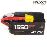 FMR 1550mAh 4s 95c Lipo Battery Pack