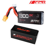 Full Metal Racing 1300mAh 4s 95c Lipo Battery Pack - NextFPV - 2