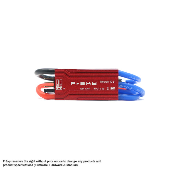 FRSKY NEURON 40S 40A ESC WITH BEC