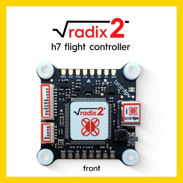 BRAINFPV RADIX 2 30x30 FLIGHT CONTROLLER
