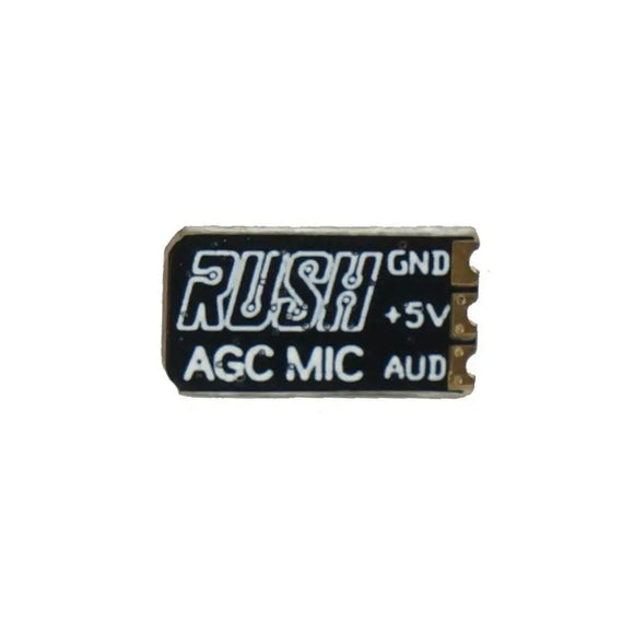 RUSH ULTRA SMALL EXTERNAL AUTOMATIC GAIN CONTROL VTX MICROPHONE