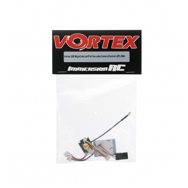 ImmersionRC Vortex 230 Mojo - Cable Set - Flat Flex Cable, camera, receiver, UFL-SMA - V23CAB
