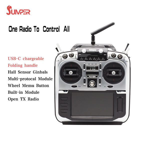 JUMPER T16 PRO V2 HALL SENSOR GIMBALS OPENTX BUILT IN MULTIPROTOCOL RADIO TRANSMITTER