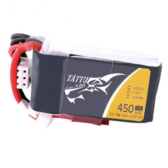 Tattu 450mAh 2s 75c Lipo Battery Pack