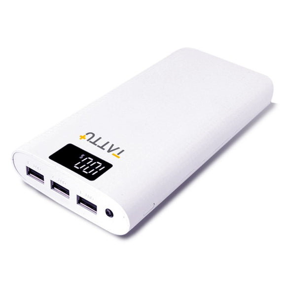 Tattu 10400mAh Power Bank Portable External Charger for iPhone, iPad and Android Smart-phone