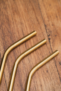 Metal Straw Bend