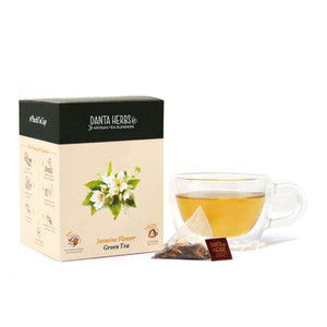 Jasmine Flower Green Tea