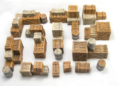 Wood Crate Scatter Terrain