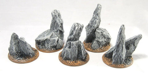 Area Terrain Insert - Rocky Outcroppings