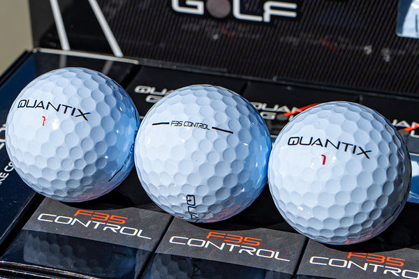 First Look: Quantix Golf F35 & F18 Golf Balls